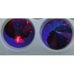 Rivoli Vetro 12 mm   Ruby  AB -  1 pz