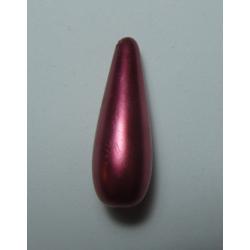 Goccia Resina  30x10 mm Red/Pink  Pearl  -  1 pz