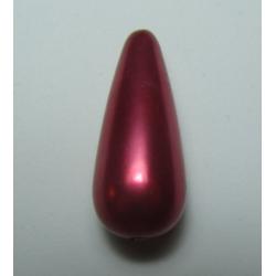 Goccia Resina  31x13 mm Red/Pink  Pearl  -  1 pz