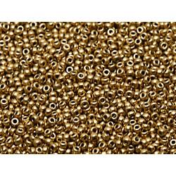 Rocailles Miyuki 15/0  Aztec Gold   - 10 g