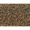 Miyuki Round Seed Beads  11/0 Purple Iris Gold  - 10 g