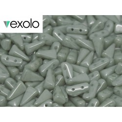VEXOLO®  Beads 5x8 mm  Opaque Baby Blue   Luster   - 40 pcs