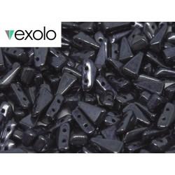 Perline VEXOLO® 5x8 mm Hematite  -  40 Pz