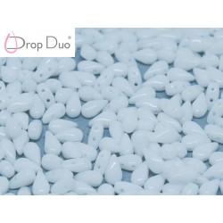 DropDuo 3 x 6 mm  Chalk White  -  40 Pz