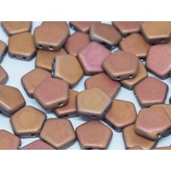Pego Beads  10 mm  Crystal Sunset  Full Matted  -  5 pz
