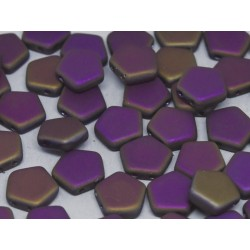Pego Beads  10 mm  Crystal Sliperit  Full Matted  -  5 pz