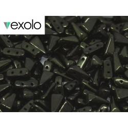 Perline VEXOLO® 5x8 mm Jet Red  Luster -  40 Pz
