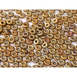 O Bead  4 mm Metallic Mix -  5  g