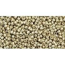 Rocailles Toho 15/0 Permanent Finish Galvanized Aluminium