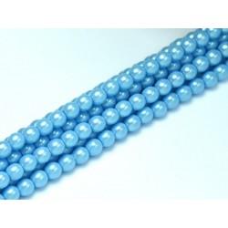 Perle Cerate in Vetro 3 mm Pearl Shell Grape Satin   - 50  Pz
