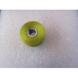S-Lon Bead Cord AA  0.25 mm TEX 35  Chartreuse   - 1 Spool  68 m