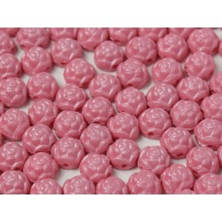 Cabochon Doppio Foro Rosetta 6 mm Pastel Antique Pink - 10 pz