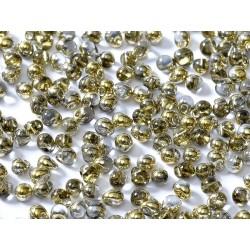 Miyuki Drops  3,4 mm  Crystal  Amber - 10 g