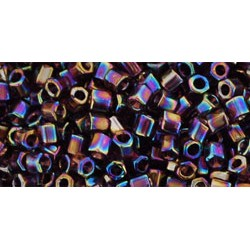 Hexagon Toho 8/0 Transparent Rainbow Amethyst - 10 g