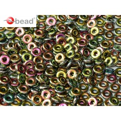Perline O Bead 4 mm Jet Vitrail Full - 5 g
