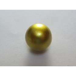 Pallina Bola Messicana 16 mm Dorata - 1 pz