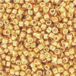 Delica Miyuki 11/0 Galvanized  Yellow Gold  - 5 g