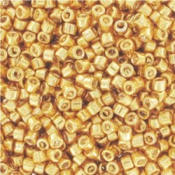 Miyuki Delica  11/0  Galvanized Yellow  Gold-  5 g