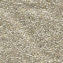 Miyuki Delica  11/0 Galvanized Silver -  5 g