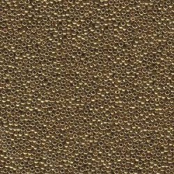 Miyuki Round Seed Beads 15/0 Metallic Light Bronze - 5 g