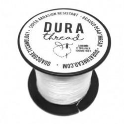 Filo DuraThread™  0.08 mm  (6LB)  Bianco   - 1 Bobina da 100 m