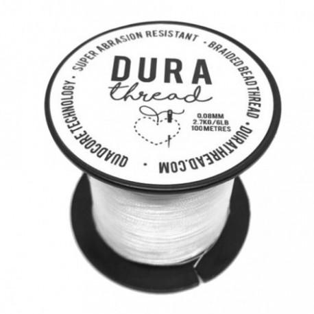 DuraThread™  0.08 mm  (6LB)  White   - 1 Spool of 100 m
