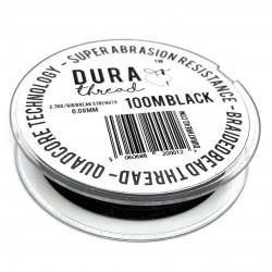 Filo DuraThread™  0.08 mm  (6LB)  Nero   - 1 Bobina da 100 m