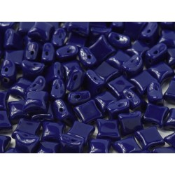 Wibeduo®  8 x 8  mm Opaque Blue  -  20 Pz