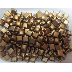 Wibeduo®  8 x 8 mm  Metallic Mix  -  20 Pcs