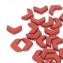 Chevron Duo  10 x 4  mm  Lava Red -  15 Pz