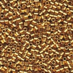Miyuki Delica 10/0 Duracoat Galvanized Gold - 5 g