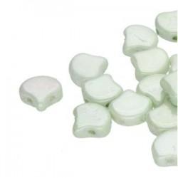 Ginkgo Leaf Bead 7,5 x 7,5 mm Crystal AB - 5 g
