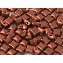 Wibeduo®  8 x 8 mm  Copper  -  20 Pcs