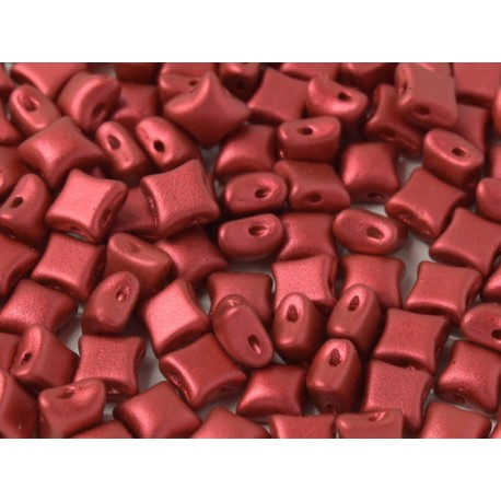 Wibeduo®  8 x 8  mm Lava Red -  20 Pz