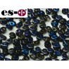 Es-O Beads 5 mm Crystal Full Azuro - 5 g