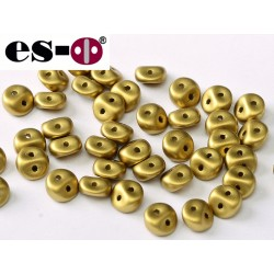 Es-O Beads 5 mm Metallic Olivine - 5 g