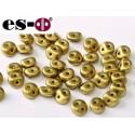 Es-O Beads 5 mm Metallic Olivine  - 5 g