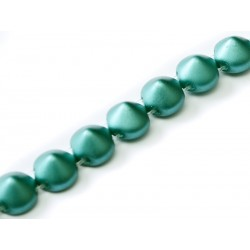 Tipp Beads  8 mm Pastel Emerald   -  10 pz