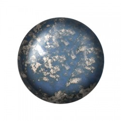 Cabochon par Puca®  18 mm Mordore Opaque  Amethyst Bronze  - 1 pc