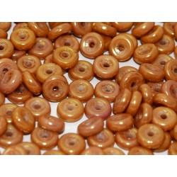 Wheel Beads 6 mm Zinc Iris  - 5  g