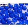 PIggy Beads  4x8 mm Sapphire -  30 pcs