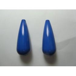 Goccia Resina 35x12 mm Orange - 2 pz
