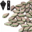 Kite Beads 9 x 5 mm Polychrome Sage & Citrus - 5 g