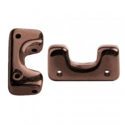 Telos® par Puca® 12x6 mm Dark Bronze - 10 pcs