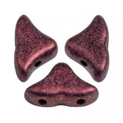 Helios® par Puca® 6x10 mm  Metallic Mat Dark Violet- 10 g