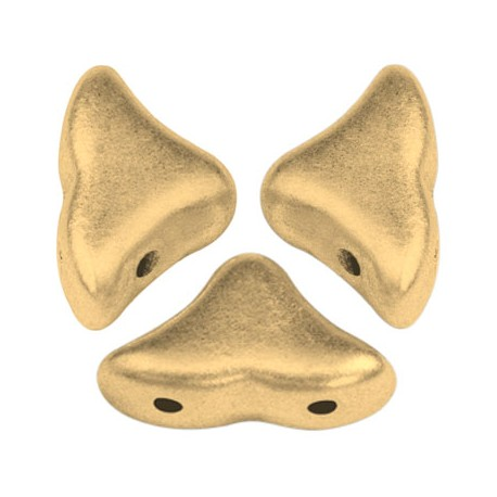 Helios® par Puca® 6x10 mm  Opaque Beige Ceramic Look  - 10 g