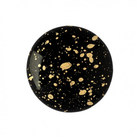 Cabochon par Puca® 18 mm Happy Festive Season Collection Limited Edition Crystal Mat Bronze - 1 pc