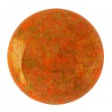 Cabochon par Puca®  25 mm Happy Festive Season Collection  Limited Edition Opaque Hyacinth  Bronze    - 1  pz