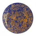 Cabochon par Puca®  25 mm Happy Festive Season Collection  Limited Edition Opaque Sapphire Bronze     - 1 pc