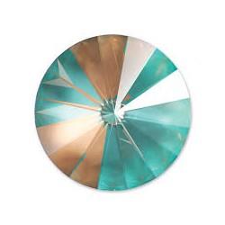 Swarovski Rivoli 1122 14 mm Crystal Cappuccino DeLite - 1 pc